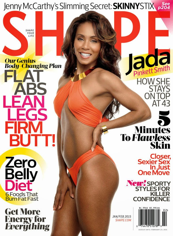 Jada Pinkett Smith - Shape Magazine, US, February 2015