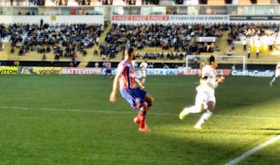 Bahia perde para o Criciúma no Heriberto Hülse pela Série B