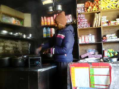A roadside dhaba in Badrinath