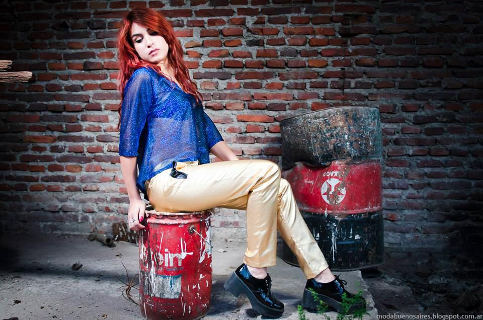 Moda otoño invierno 2014 ropa de mujer juvenil y urbana CIntia Vergara invierno 2014.