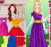 Barbie's Party Dress up