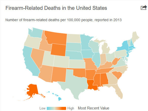 United States Shootings Since 1963 Have Killed More Americans Than All Wars Ever