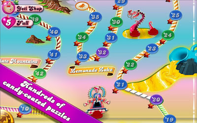 The super hit game Candy Crush Saga is now available for Android