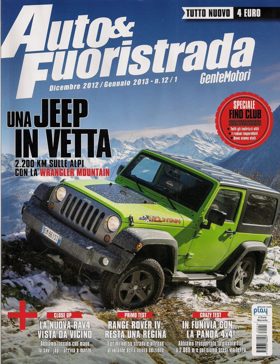 Auto & Fuoristrada dicembre 2012 - gennaio 2013