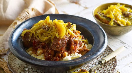 Morocco has a long history of beekeeping Tfaya with lamb tagine and couscous recipe