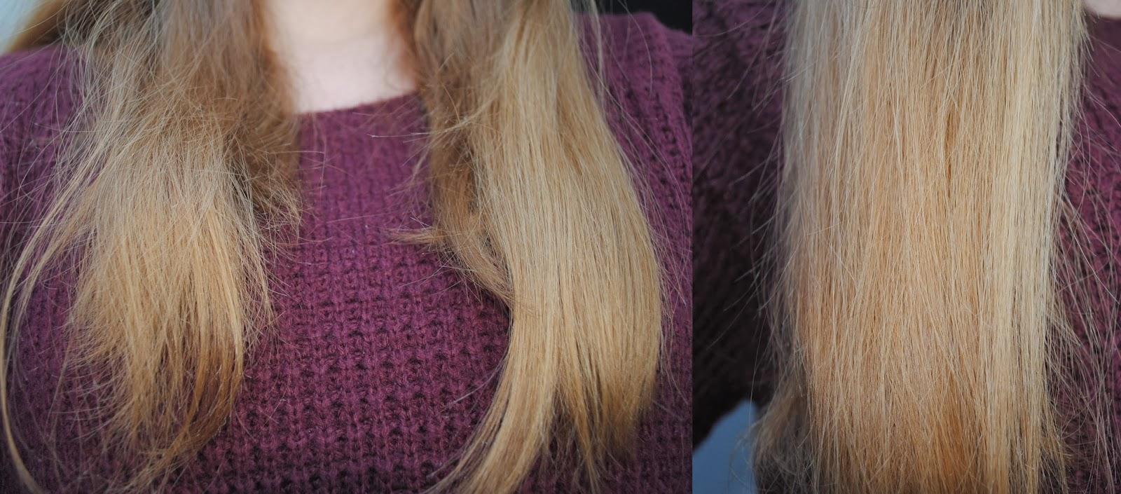 et voil ce stade jai vraiment beaucoup moins de reflets roux et beaucoup plus de blonds dans mes cheveux - Super Eclaircissant Sur Cheveux Colores