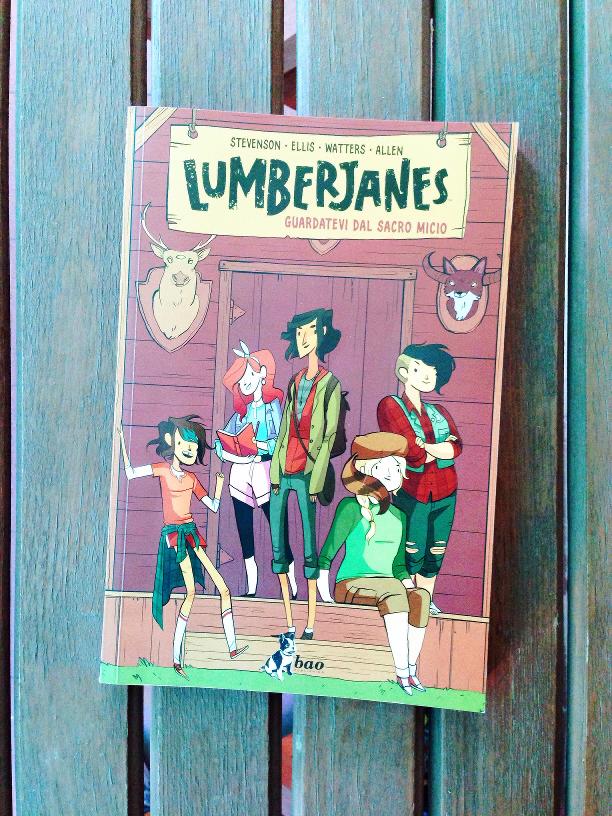 Lumberjanes, fumetti, recensioni, Noelle Stevenson