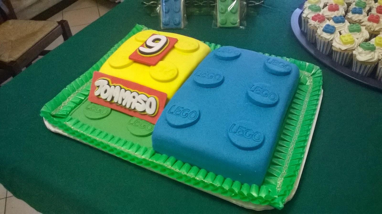 Il Mio Primo Sweet Table Festa Lego Da Cuore Dolce Su