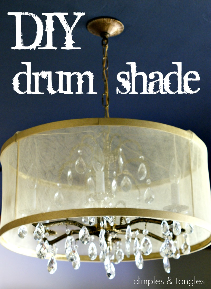 thank you for all of your kind comments on my dark ceiling yesterday i gave you a sneak peek of my new drum shade and today iu0027ll show you how i did