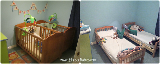 From cots to toddler beds