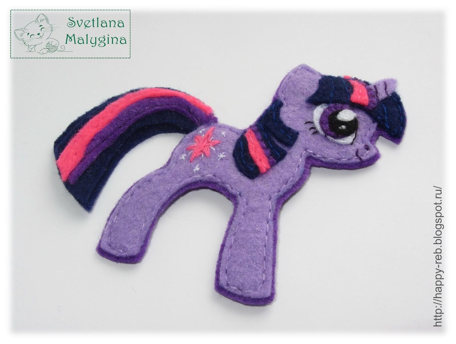 Как сшить пони из май литл пони 24