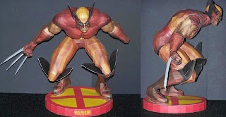 Wolverine Papercraft Model Superhero