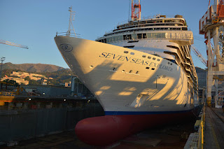 FINCANTIERI: varata la prima nave per Regent Seven Seas Cruises