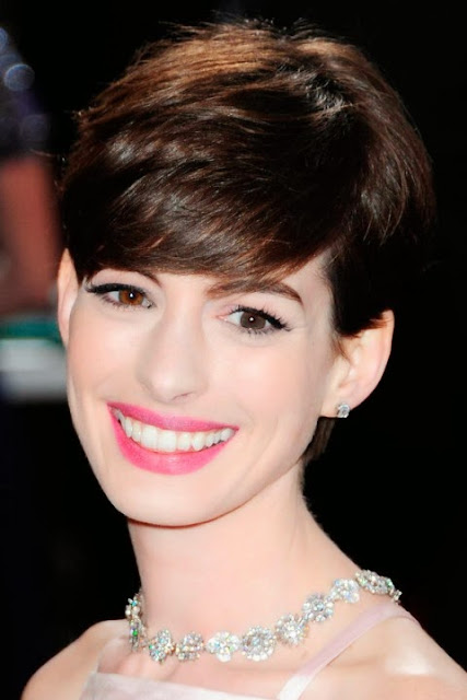 Anne Hathaway Short Hairstyles Season