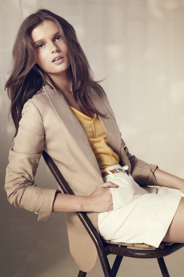 MASSIMO DUTTI JUNE 2013 LOOKBOOK: GIEDRE DUKAUSKAITE BY GEMMA EDO