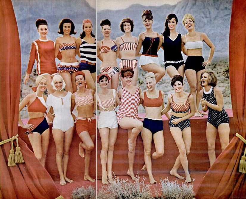 1965 bathing suit