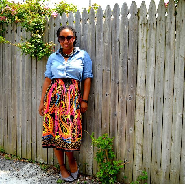 tube dress worn as a skirt