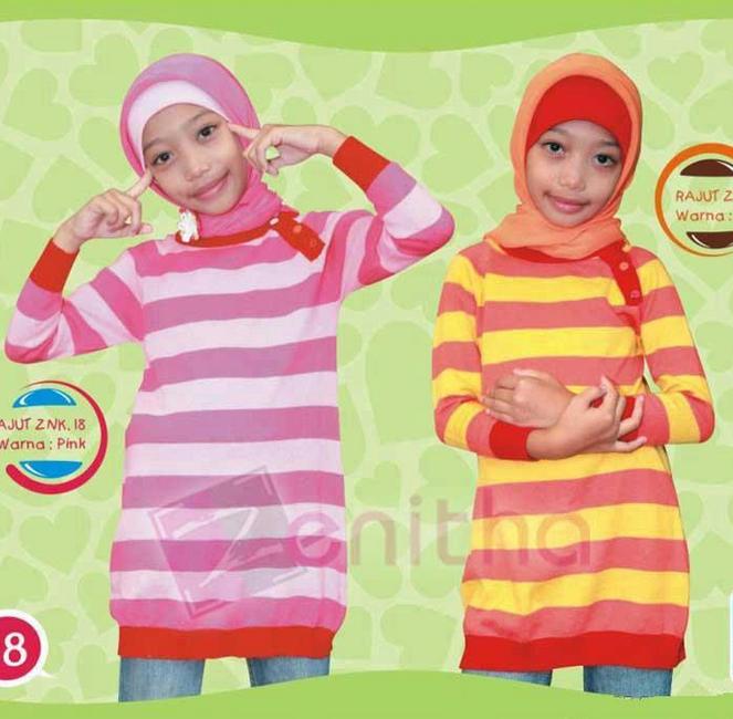20 Contoh Model Baju Muslim Anak Perempuan Terbaru