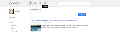 Those in infographics… and in Google+