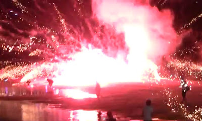 Kemalangan letupan bunga api di pusat peranginan Thailand