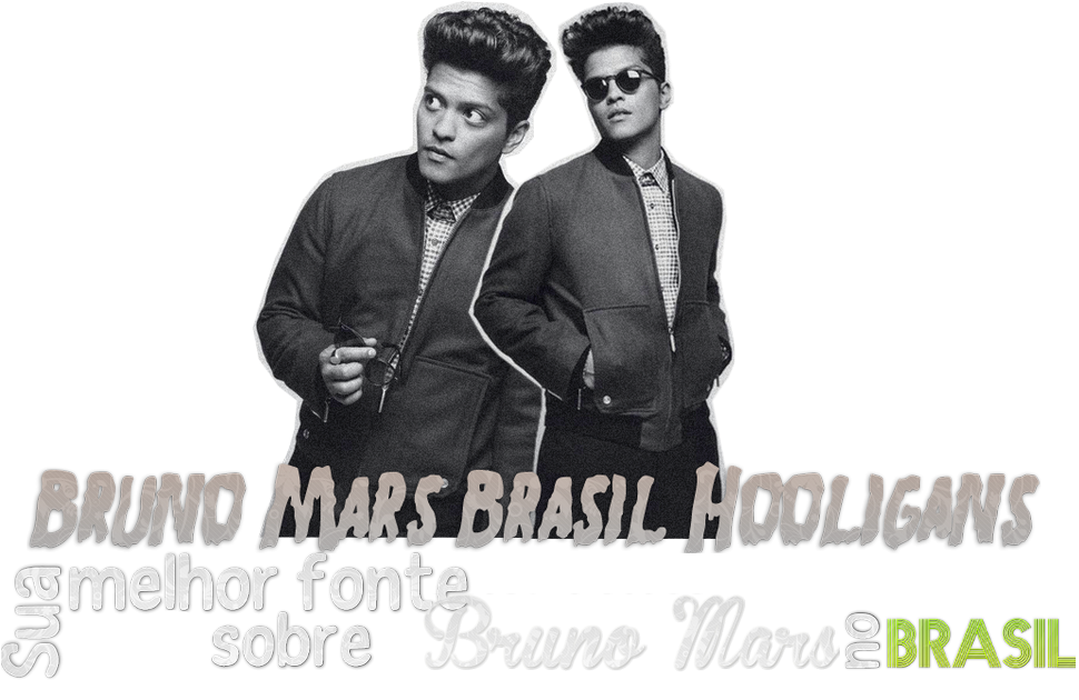 Bruno Mars Brasil Hooligans