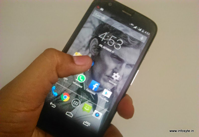 Moto G latest android Lollipop