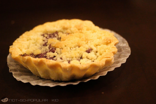 Ube Tart by Rowena's in Tagaytay