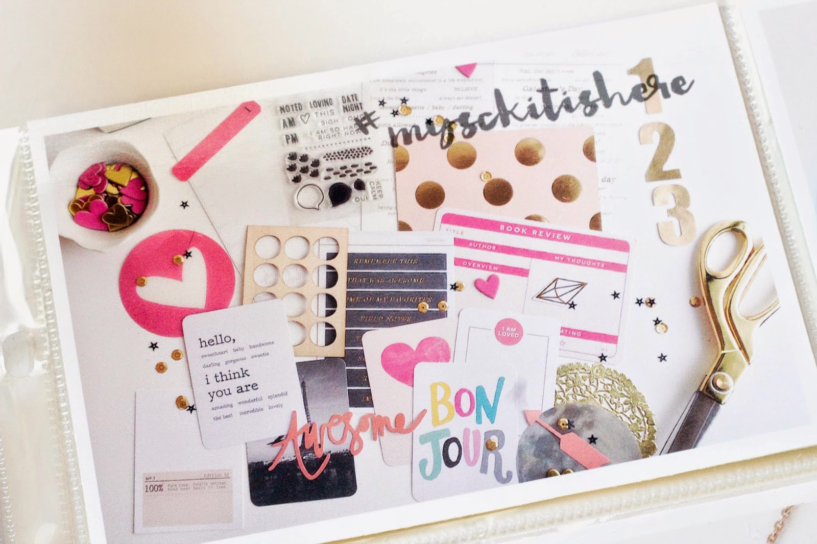 Little Lamm & Co, Project Life , scrapbooking,  memorykeeping
