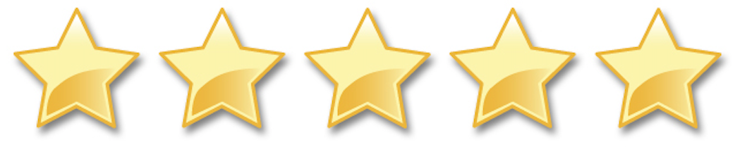Image result for 5 star rating png