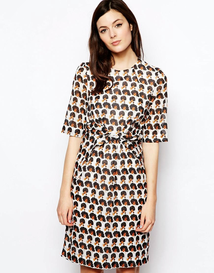 peter jensen print dress