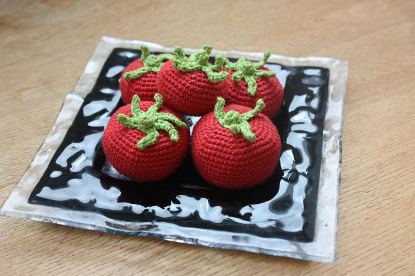 Happyamigurumi Amigurumi Tomatoes Play Food Or Decorations