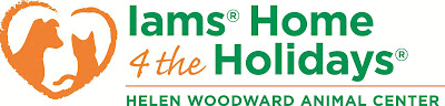 Iams Home 4 The Holidays Logo
