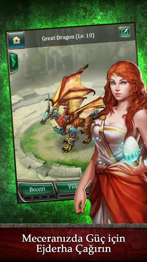 Android Dragons of Atlantis Apk resimi 4