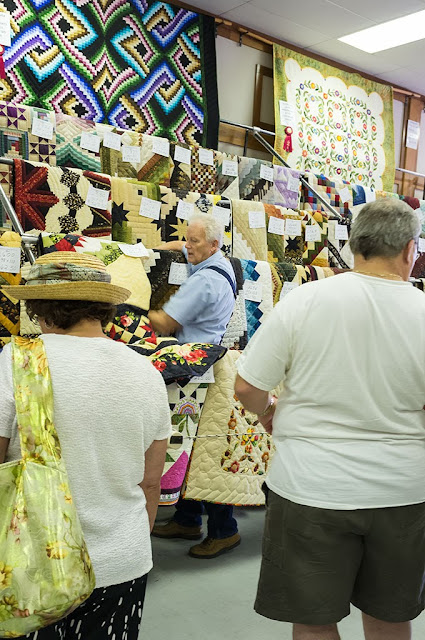 Quilts at the Kutztown Folk Festival