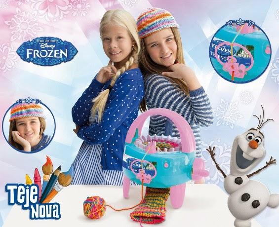 JUGUETES - DISNEY Frozen - Tejenova | Mediterráneo  Producto Oficial | Cife | A partir de 6 años