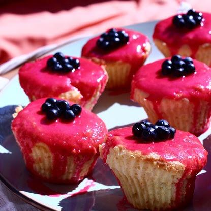 Muffinki jagodowo-cytrynowe