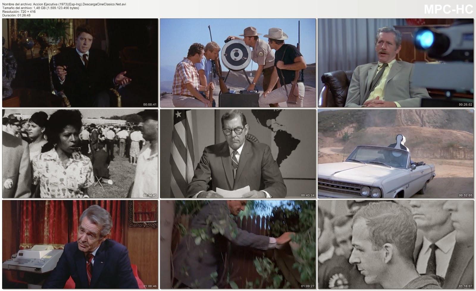 Acción ejecutiva | 1973 | Capturas.. El asesinato de Kennedy