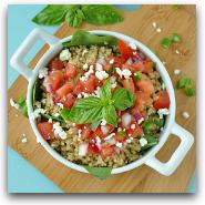 Quinoa Bruschetta Salad
