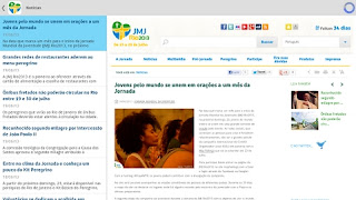 Aplicativos levarão informações da JMJ Rio 2013 a peregrinos e voluntários