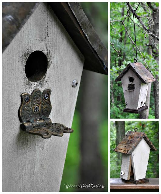 Rebecca 39 S Bird Gardens Blog Rustic Hanging Birdhouse