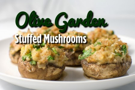 Heavenly Scents Recipes Olive Garden Stuffed Mushrooms
