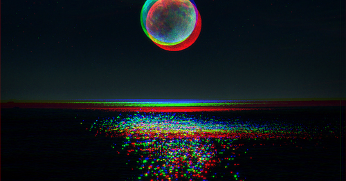 Trippy space backgrounds