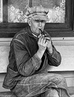 "Ben Shahn, 1935, ""resident of Smithland, Kentucky"""