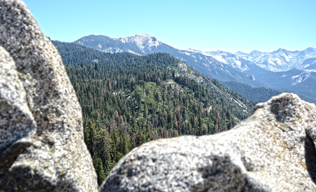 Moro Rock - Sequoia National Park, Californie, USA