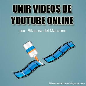 unir vídeos de youtube online
