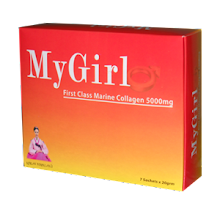 My Girl 1st Class 5000mg Collagen - RM45.00/Box, 3 Kotak RM110.00