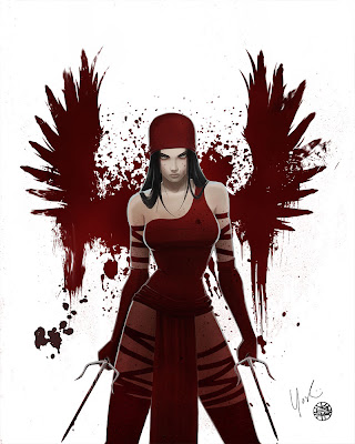 marvel elektra hot - frank miller women
