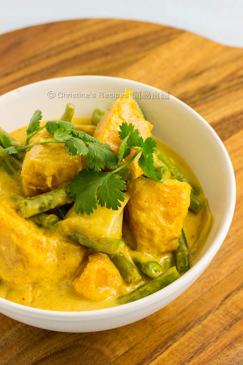 紅咖哩南瓜 Pumpkin & Green Bean Red Curry01