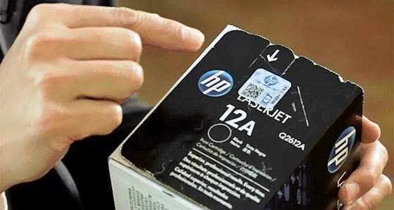 Selo de qualidade HP