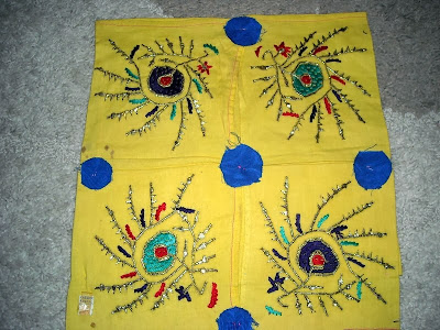 eski el işlemeli örtüler